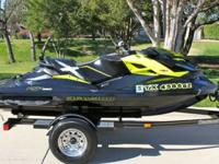 2013 SEADOO RXP-X 260 ONLY 32 HRS LIKE NEW INCLUDES