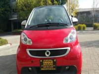 Options:  2013 Smart Fortwo Passion Electric Drive 2Dr