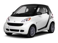 Rally Red 2013 smart Fortwo Passion RWD 5 Speed