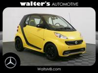 Options:  2013 Smart Fortwo Passion|Flame Yellow/Black