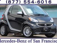 Clean CARFAX. Black 2013 smart Fortwo Passion RWD 5