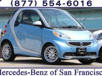 Clean CARFAX. Blue 2013 smart Fortwo Passion RWD 5