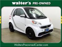 2013 clever fortwo interest in White over Black with