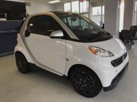CARFAX One-Owner. Clean CARFAX. White 2013 smart Fortwo
