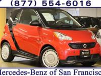 Clean CARFAX. 2013 smart Fortwo Pure RWD 5 Speed
