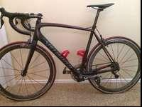 A used but in great shape specialized Tarmac road bike.