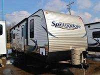 2013 Springdale 292RLGL Rear Cargo Carrier  You get