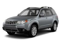 This Subaru Forester has a strong Gas Flat 4 2.5L/152