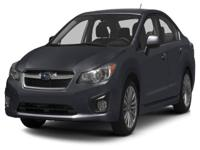 Options:  2013 Subaru Impreza 2.0I Our Prices:You`Re