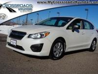 Looking for a clean, well-cared for 2013 Subaru Impreza