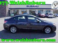 Impreza 2.0i Premium, Subaru Certified, 4D Sedan, CVT