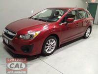 Options:  2013 Subaru Impreza 5Dr Auto 2.0I Premium|4