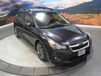 Dark Gray Metallic exterior and Black interior. CARFAX