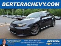 **CLEAN CARFAX** AWD WRX/5M/*Turbo!* w/Thousands of
