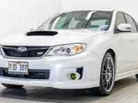 White 2013 Subaru Impreza WRX STi AWD Close-Ratio