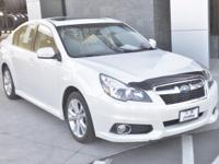 Options:  2013 Subaru Legacy 2.5I|White|Wow! Come Check