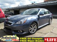 -CARFAX 1-Owner This 2013 Subaru Legacy is a 100%