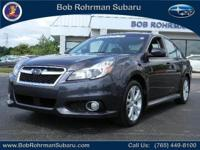REGULAR SPECIAL !! HURRY IN TO BOB ROHRMAN SUBARU FOR
