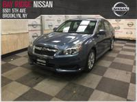 This 2013 Subaru Legacy 2.5i Premium is offered to you