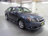ONE OWNER, LIMITED, AWD, SUNROOF!!! SUBARU FACTORY