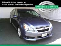 Subaru Legacy If you are looking for an AWD sedan, come