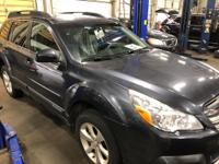 Recent Arrival! Clean CARFAX. Gray 2013 Subaru Outback