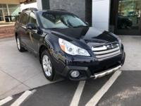 Options:  2013 Subaru Outback 2.5I|Blue|One Owner