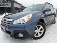 Options:  2013 Subaru Outback 2.5I|Blue|*Clean Carfax