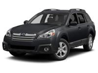 SUBARU CERTIFIED. Moonroof Package (Auto-Dimming Rear