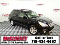 Loaded 2013 Subaru Outback with Leather Heated Power