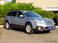 2013 Outback 2.5i Premium in silver blue metallic with