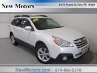 This outstanding example of a 2013 Subaru Outback 2.5i