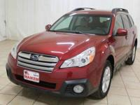 This 2013 Subaru Outback is an adventure ready vehicle