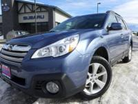 Options:  2013 Subaru Outback 2.5I|Blue|Reclining Front