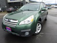Options:  2013 Subaru Outback 2.5I|Green|3.9 Axle