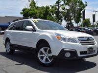New Price! CARFAX One-Owner. Clean CARFAX. WHITE 2013