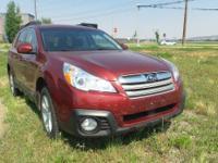Red 2013 Subaru Outback 2.5i Premium AWD CVT