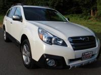 New Price! CARFAX One-Owner. Satin White Pearl 2013