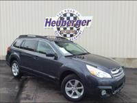 The Subaru Outback is the choice for both adventuring