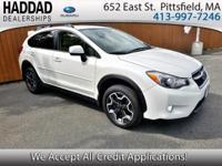 Subaru Certified, Satin White Pearl, ABS brakes, Driver