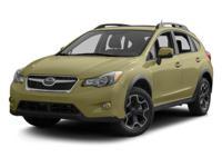 Recent Arrival! 2013 Subaru XV Crosstrek Limited  33/25