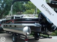- Stock #72603 - 2013 Sun Tracker 22 Fishin' Barge DLX