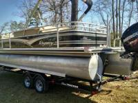 2013 Sun Tracker Party Barge 254 XP3 Boat is located in