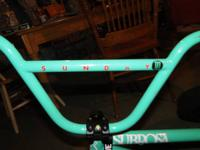 hi i have a sunday bmx bike for sale it is a mint color