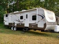 This trailer has many amenities starting with the