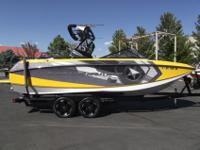 This 2013 Super Air Nautique G23 with PCM's 550 XS with