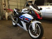 FOR SALE IS A RARE LIMITED EDITION GSXR 1000 1