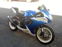 2013 SUZUKI GSXR 600 Here at On Track Powersports we