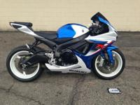 2013 SUZUKI GSXR600 We are here to serve YOU! Prefect