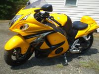 For sale 2013 Suzuki Hayabusa 1300R Limited Edition.